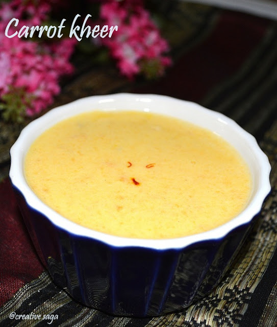 how to make carrot payasam