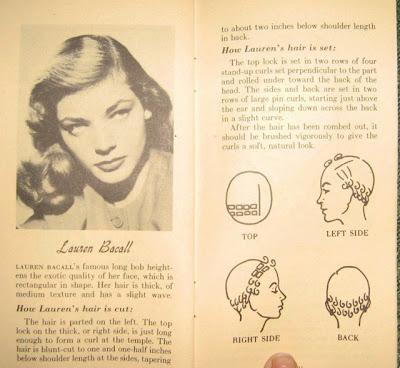 Lauren Bacall setting pattern