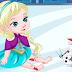 Elsa accidente de patinaje