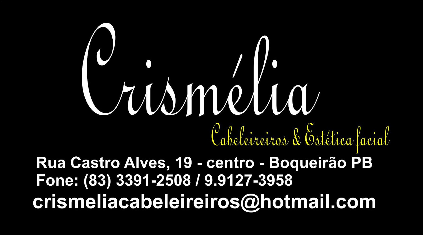 Clismélia Cabeleiriera