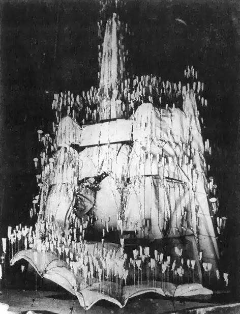 maqueta de la Cripta de la colonia Güell, Gaudí
