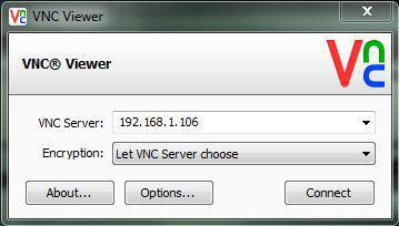 Escritorio remoto con VNC Viewer en Windows