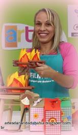 1ªParticipação no Programa Artes na tv na BandRio