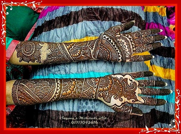 The Best Simple and Wonderful Mehndi Designs Collection