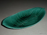 Wedgwood Majolica Green Leaf Dish