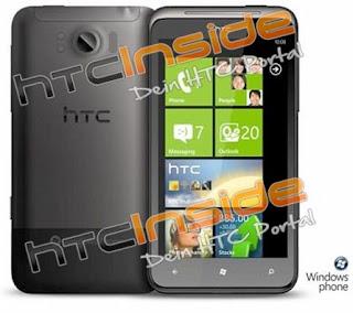 Smartphone HTC Eternity Phone System Windows 7, Smartphone, HTC