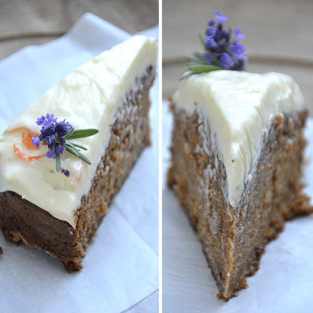 Gulerodskage Med Cream Cheese Frosting