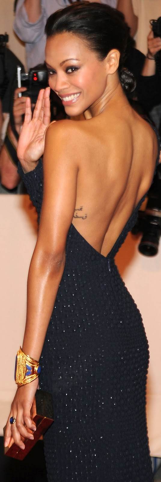 Zoe Saldana Tattoo Photojpg