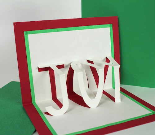 Ashbee DesignPop-Up Christmas Cards