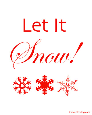 Let it Snow! - FREE Printables