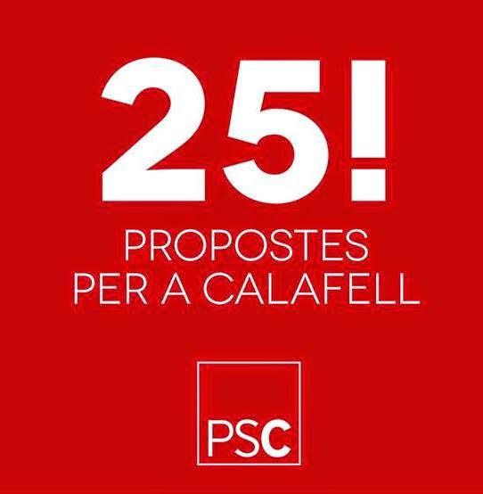 LES 25! PROPOSTES