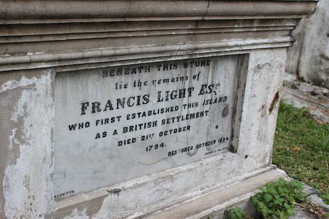 Francis Light's Grave