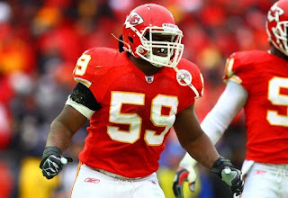 Kansas City Chiefs player Javon Belcher