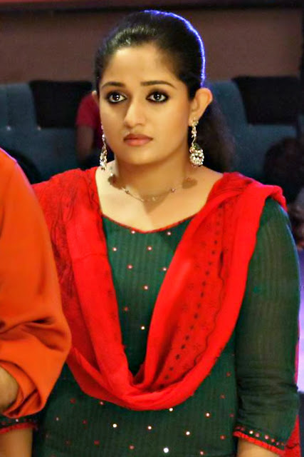 KAVYA MADHAVAN IN GREEN CHURIDAR BEST QUALITY IMAGES FREE