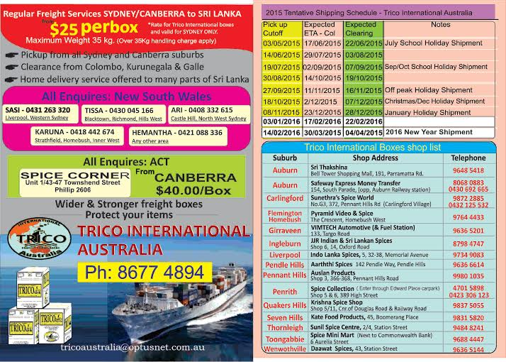 TRICO INTERNATIONAL AUSTRALIA