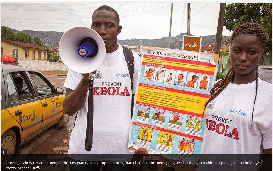 Virus Ebola Mengganas