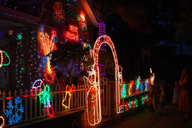 Sydney Christmas Lights Display 2012 Dulwich Hill