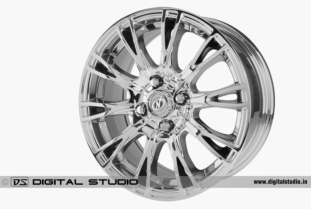 Alloy wheel for cars