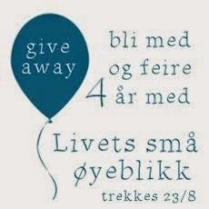 Give away med Livets små øyeblikk