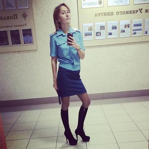 Conheça a beleza das mulheres militares da Russia
