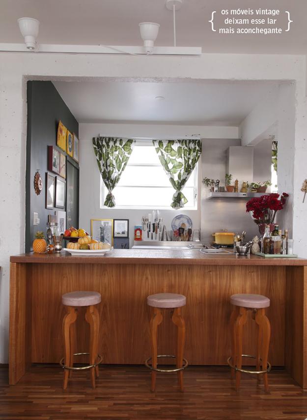 Detalhes da decoração do apartamento da blogueira Rita Lobo  Casinha Arrumada # Decorar Cozinha Gnt