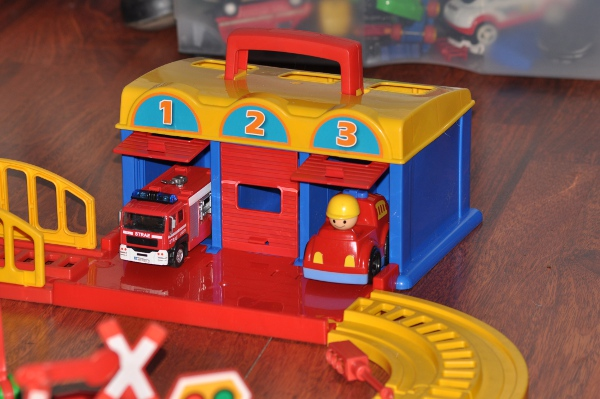 W świecie Zabawek Wader Garaż Kid Cars 3box