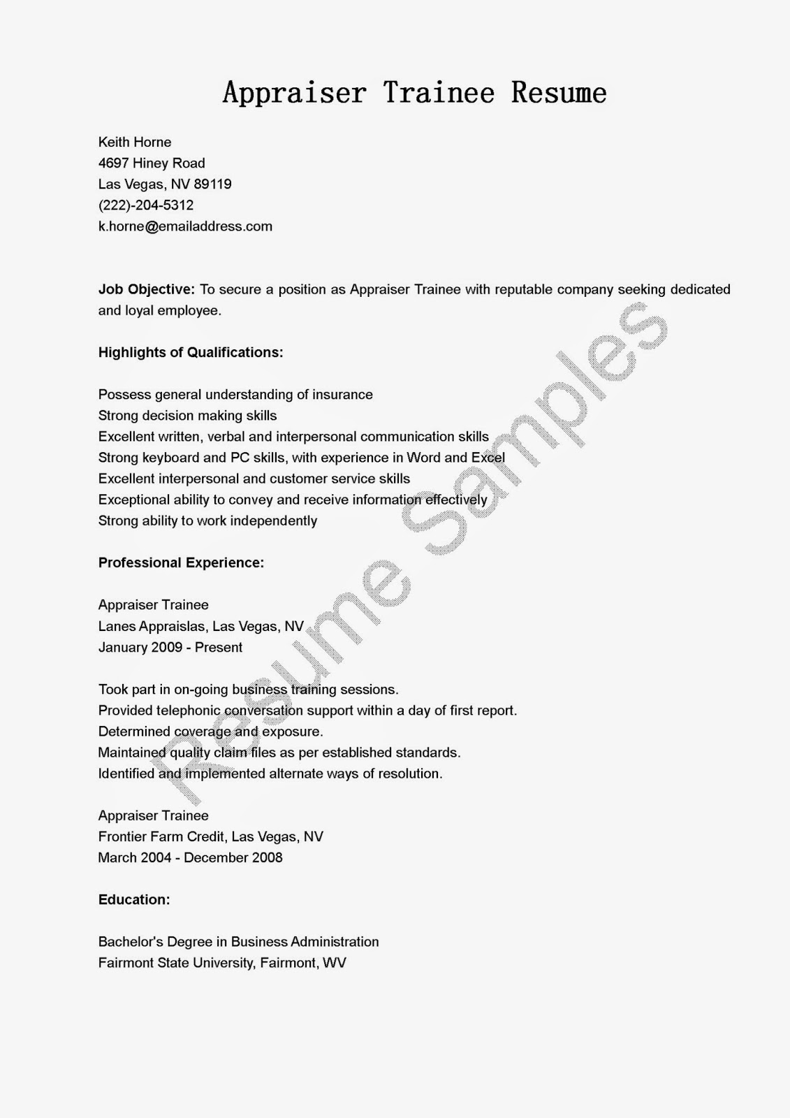sle cover letter real estate appraiser value appraisal