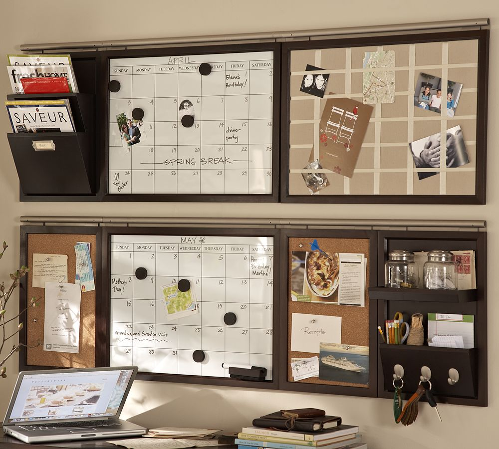Swoon style and home a run for my money for Kitchen cork board ideas