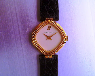 Audemars Piguet 18Kt gold for Finery girl