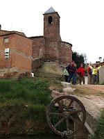 Part posterior de l'església de Sant Iscle i Santa Victòria des de la Sèquia de Manresa