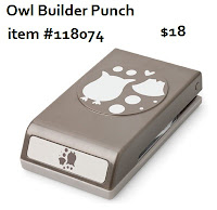 Stampin'UP! Owl Builder Punch