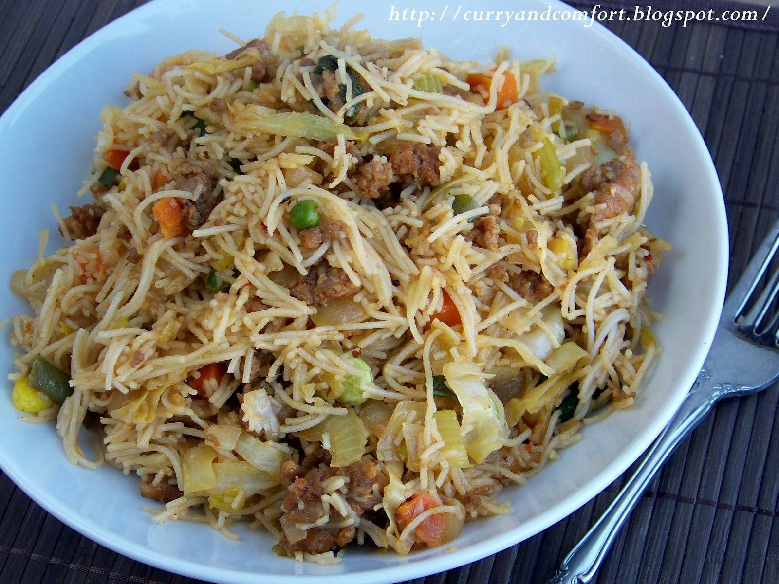 Kitchen simmer stir fried rice stick noodles allow all ingredients to cook down and taste for seasoning finally add the cooked noodles and toss with the other ingredients mix well and serve enjoy forumfinder Gallery