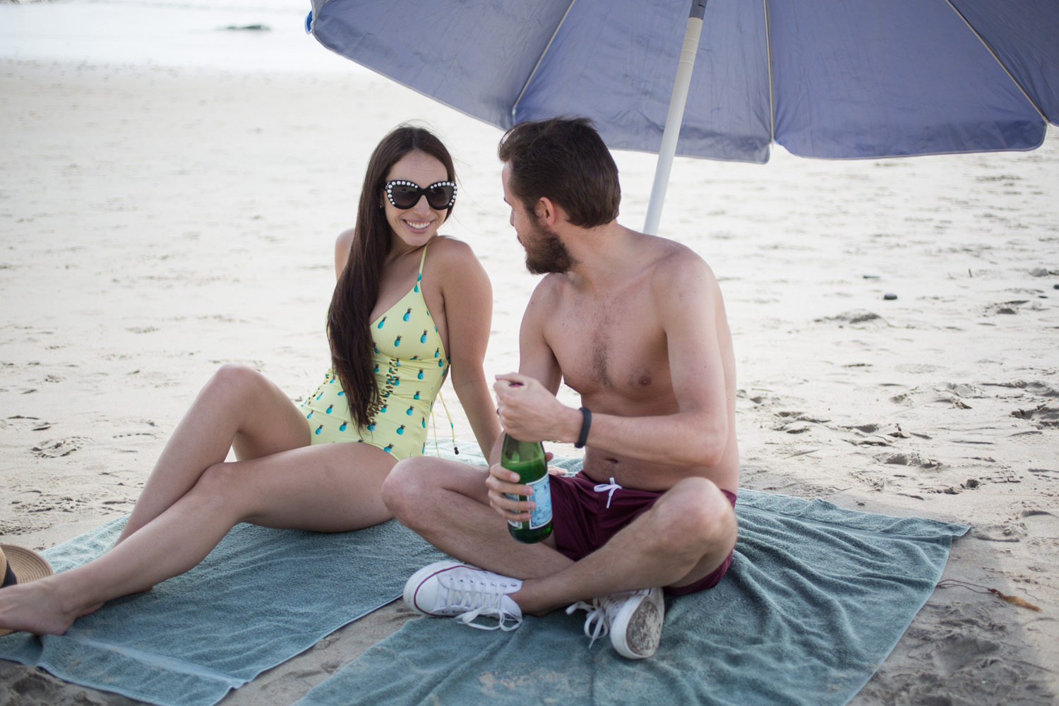 couples beach outfits