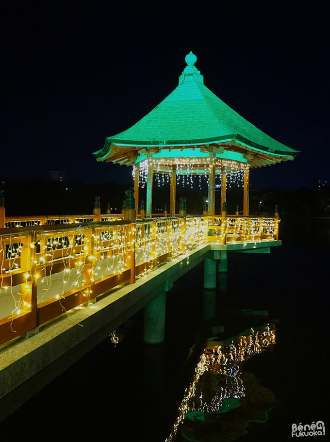 Illuminations de Noël, Ohori park, Fukuoka