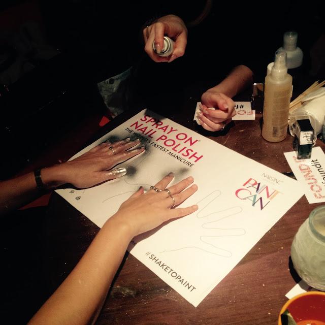 Nails Inc Spray-On Nail Polish reviewed