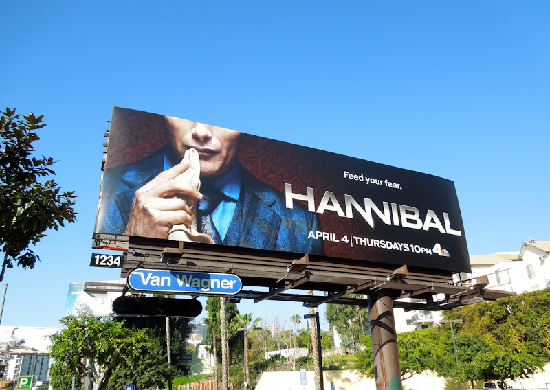 Hannibal series premiere billboard