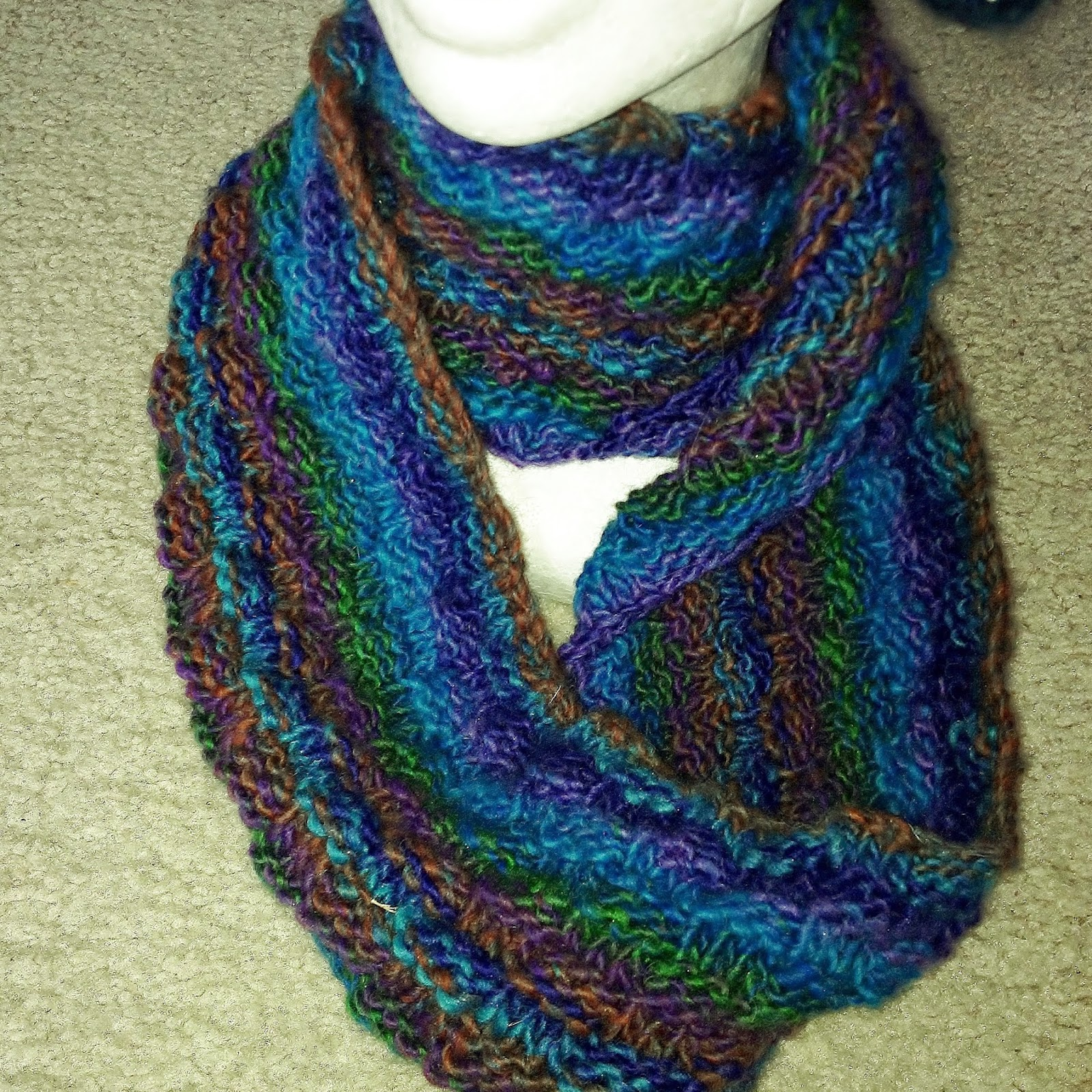 knitted handmade cowl competition