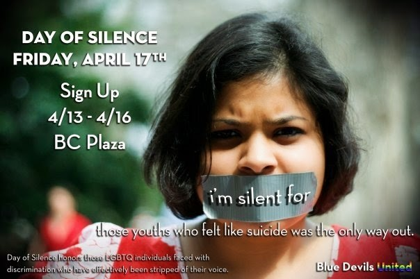 Happy National Day of Silence