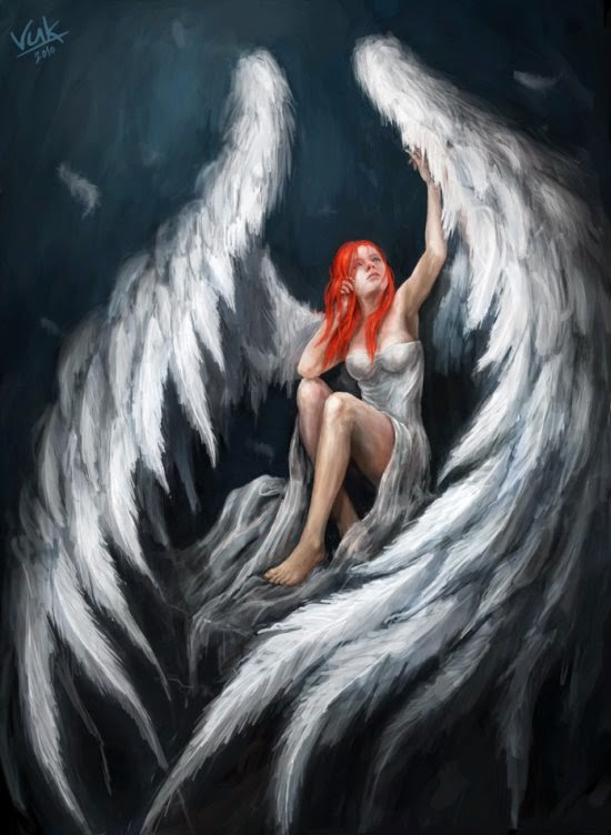 Anjos, Deuses E Demônios Nas Ilustrações De Fantasia De