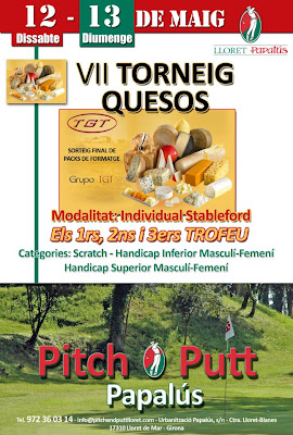 Torneig TGT AL pITCH & Putt Papalus