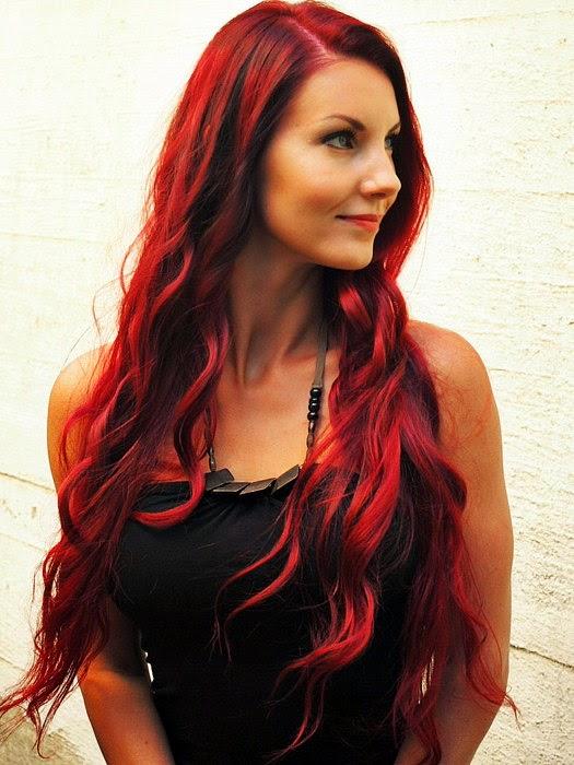 nyt pettäminen punaiset hiukset