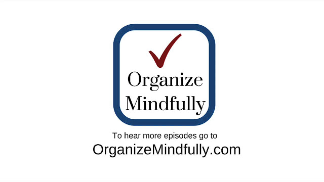 Organize Mindfully Podcast with Heidi Leonard - Peachtree City Professional Organizer