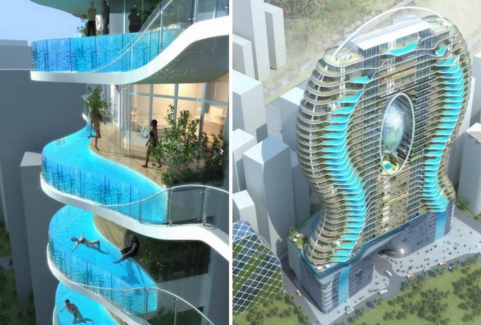 Ostivm agosto 2012 - Piscinas en terrazas de casas ...