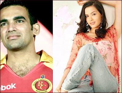 Isha Sharvani And Zaheer Khan Marriage Indian Hot Hot: Isha S...