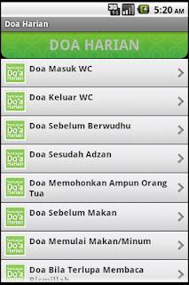 Doa Harian Apk Aplikasi Islami Android