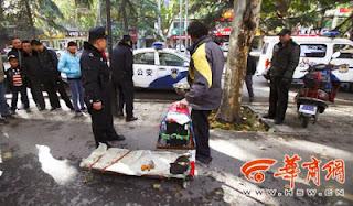 Cara Keren Pengemis China Mendapatkan Uang Banyak Namun Tetap Saja Ditangkap Polisi