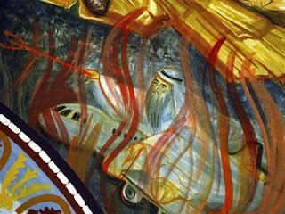 Iglesia rumana alberga una pintura de Bin Laden que lo representa como el diablo Bin-laden-el-diablo