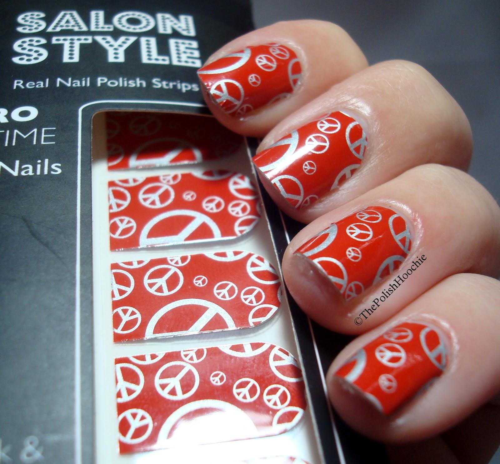 Nail Polish Style: ThePolishHoochie: Salon Style Real Nail Polish Strips