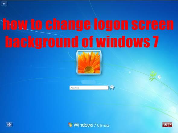 how to change windows logon background