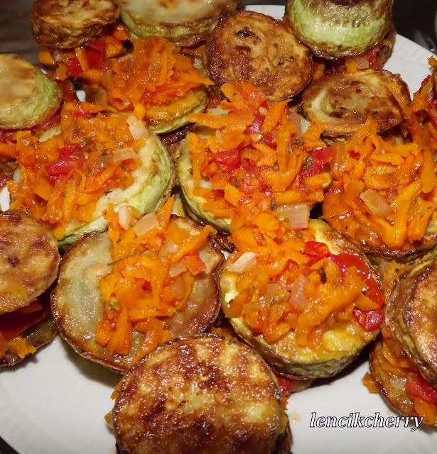 кабачки морковь
